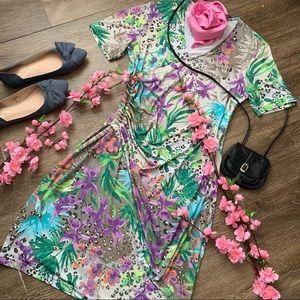 Cute Floral Midi Dress!